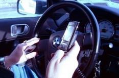 közlekedésbiztonság, mobil, sms