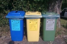 nyár, szelektív hulladék