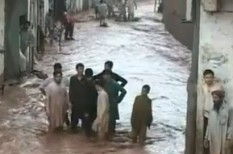 árvíz, ensz, pakisztán