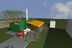 biomassza, energia, erőmű, lengyelország