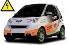 elektromos autó, fenntarthatóság, közlekedés, sixt, smart