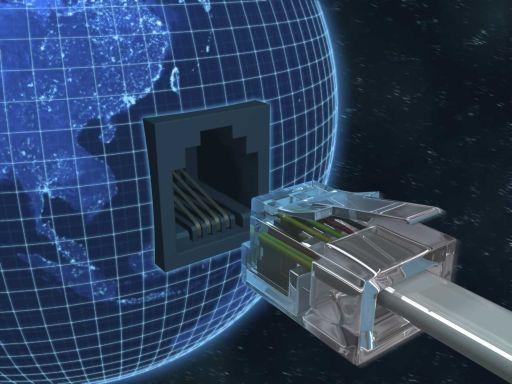 vezetékes internet dugó