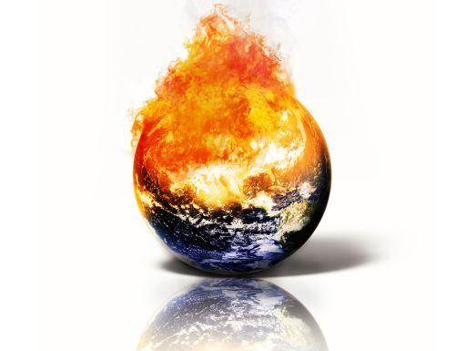 földgolyó lángokban