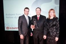 budapest bank, partner-díj