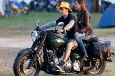 fesztivál, motorkerékpár, motorola