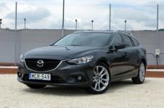 autóteszt, mazda, Mazda6 Sportkombi CD175 Revolution AT SD