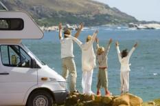 autózás, család, gyerek, kölcsönzés, megosztás