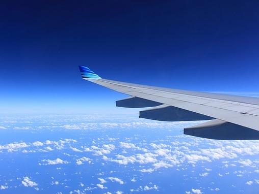 repülőgép szárnya