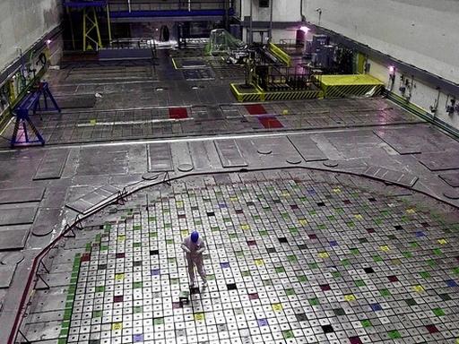 Nukleáris fűtőelemek - Kép: MTI