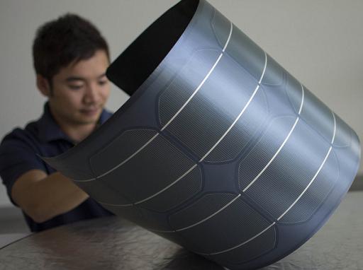 A rugalmas napelemek bármilyen felületre elhelyezhetők - Kép: Midsummer
