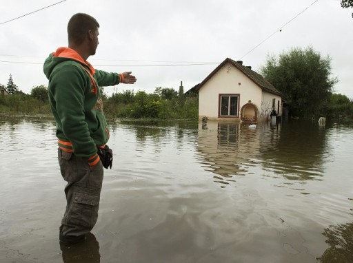 Árvíz - Siófokon házak váltak lakhatatlanná