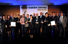 díj, elismerés, franchise