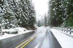 biztonságos közlekedés, közlekedésbiztonság, téli autózás