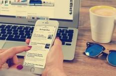 céges honlap, fogyasztói szokások, információs társadalom, okoseszközök, online vásárlás, webshopok