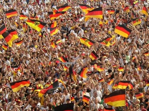 német zászlók