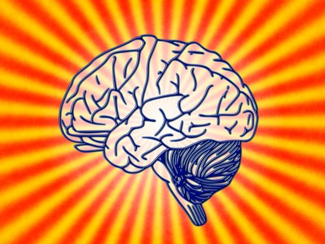 sugárzó agy grafika