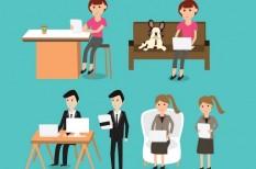 rugalmas foglalkoztatás, rugalmas munkavégzés, spórolás, távközlés
