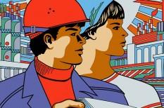 férfi, főváros, külföldi munka, munkavállalás, női munkavállalók, tanulás