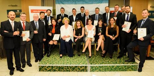 Az Üzleti Etikai Díj idei nyertesei és a díjátadók