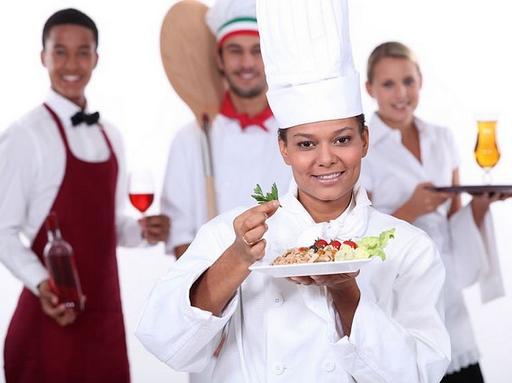 szakács, felszolgálló, pék