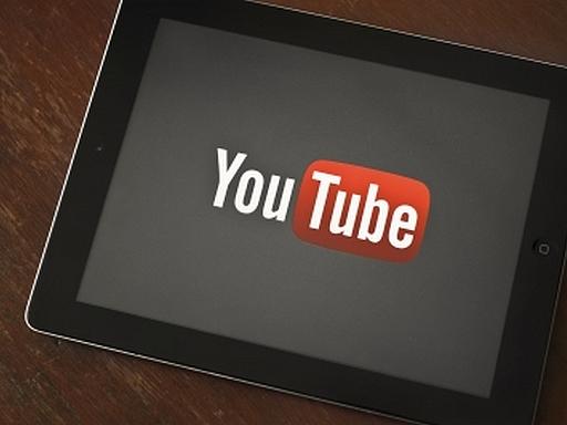youtube egy tableten