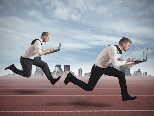 üzletemberek versenyeznek