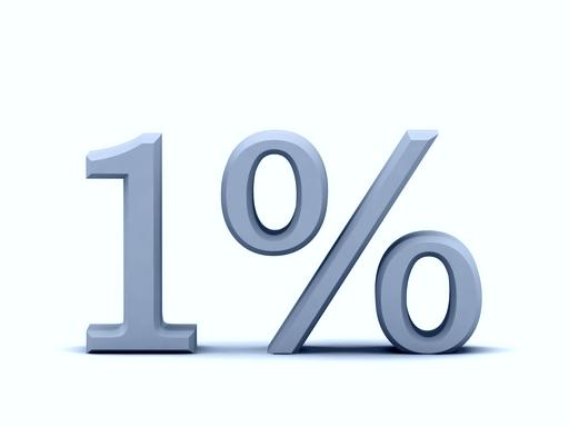 egy százalék: nem mindnki ajánlja fel