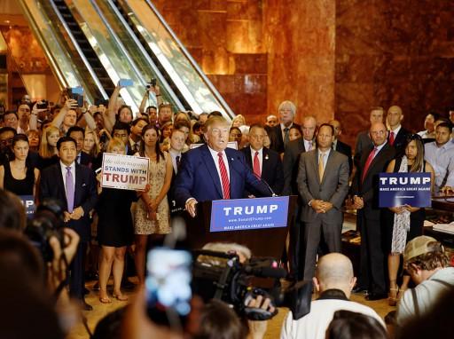Donald Trump beiktatása, 2016 Fotó: wikipedia/Michael Vadon