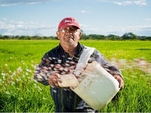 a mezőgazdaság miatt van meleg