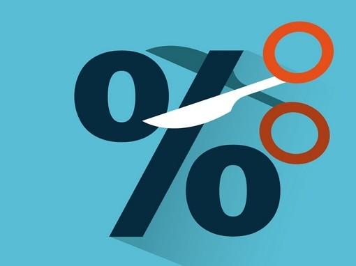 százalékjelet elvágó olló