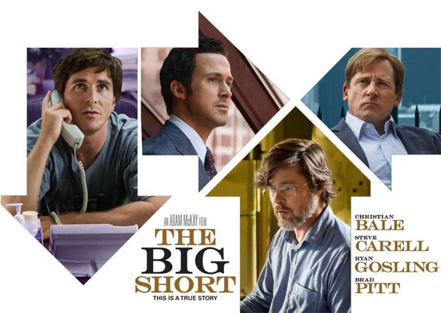 A nagy dobás című film plakátja. Öt Oscarért megy versenybe.