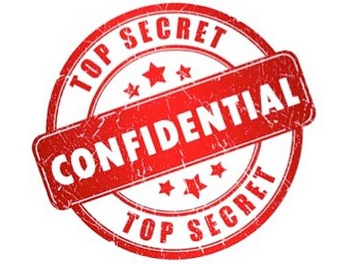 top secret pecsét