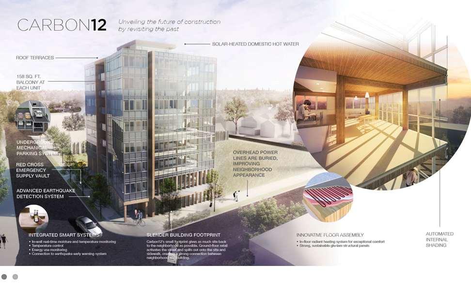 A portlandi Carbon Twelve (fotó: Path Architecture)