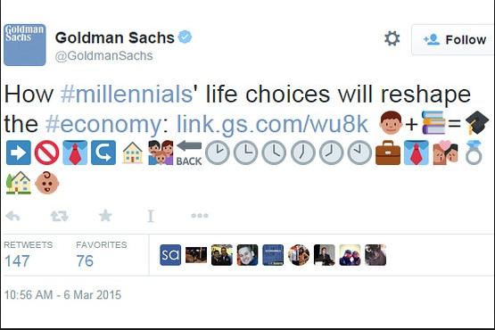 Amikor a Wall Street túlzásba viszi a fiatalkodást (fotó: Twitter)