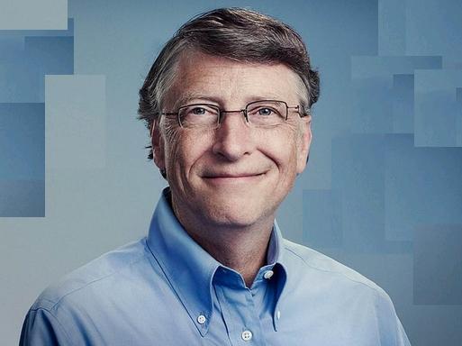 Bill Gates portréja