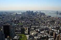 építészet, felhőkarcoló, környezetszennyezés, new york