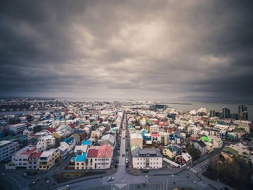 kisváros felülnézetből