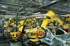 autóipar, beszállítók, elektroautó, robotok