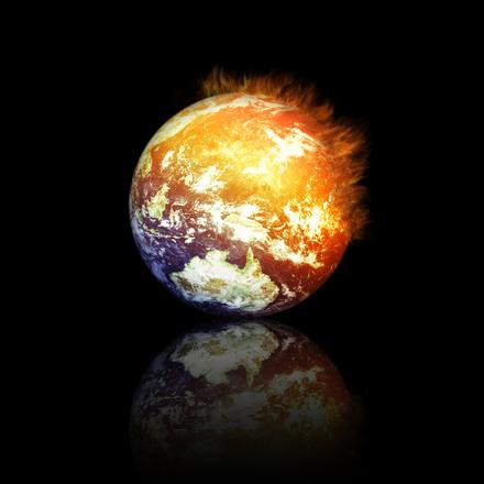 Melegszik a bolygónk (fotó: freeimages.com)