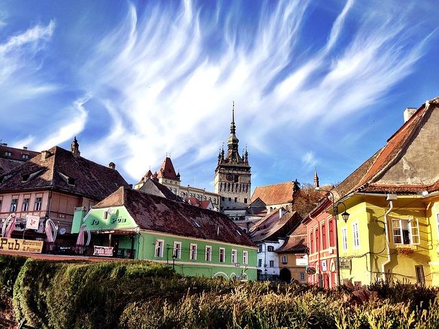 román városkép