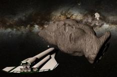 bányászat, nyersanyag-kitermelés, űrkutatás