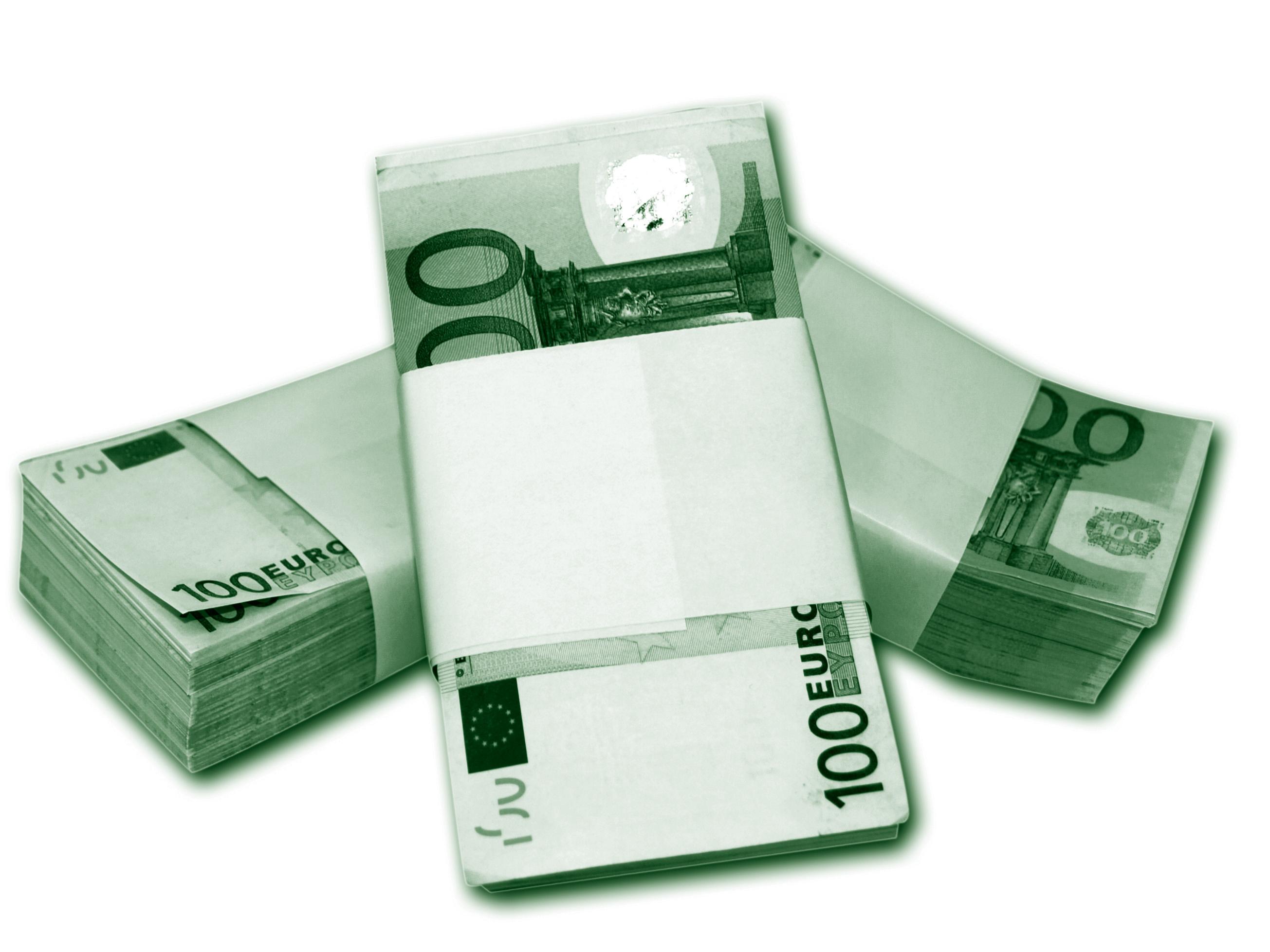 Félmillió eurót viszonylag könnyű szerezni. (fotó: freeimages.com)