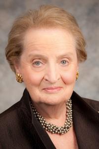 Madeleine Albright, volt amerikai külügyminiszter (fotó: www.albrightstonebridge.com)