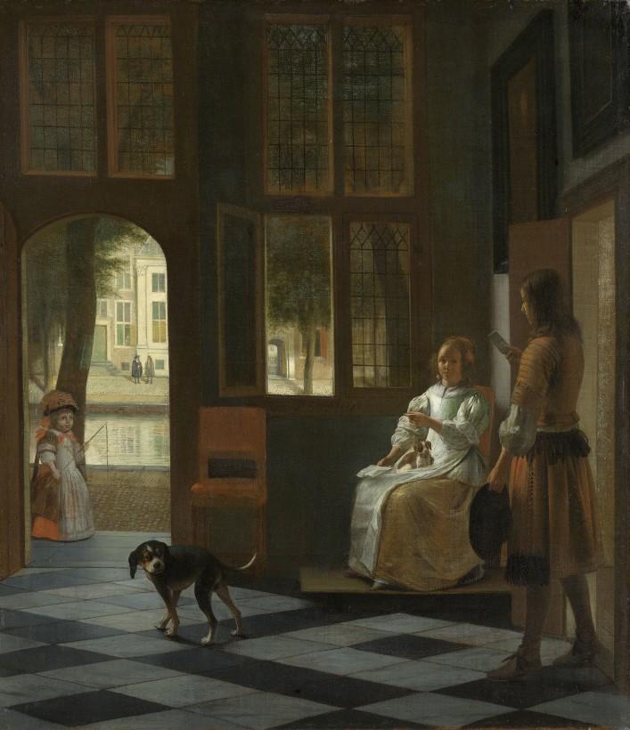Az ominózus kép a Rijksmuseumból