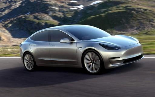 A Tesla Model 3. (fotó: Tesla Motors)