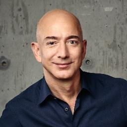 Jeff Bezos (fotó: Twitter)
