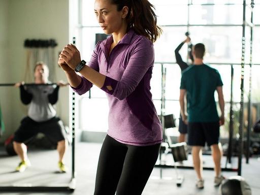 emberek edzés közben