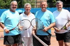 társasági sport, társasági tenisz, tisztelt ász