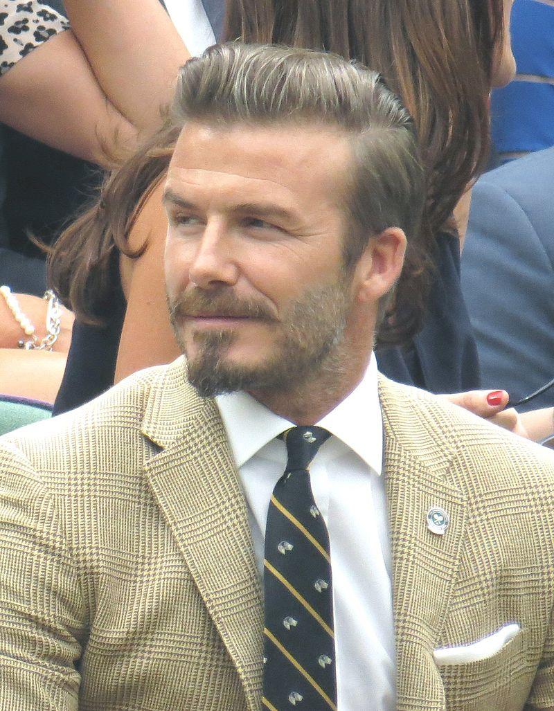 David Beckham, a sportceleb-fenomén (Fotó: wikipedia)