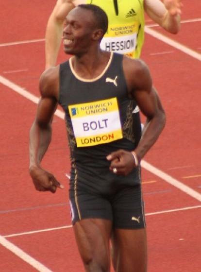 Usain Bolt (fotó: wikipedia)
